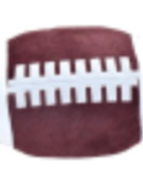 Iscream 780-1242 Football Large Squishie