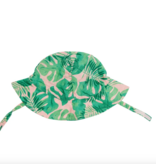 Angel Dear Tropical Leaves- Pink Sunhat Pink
