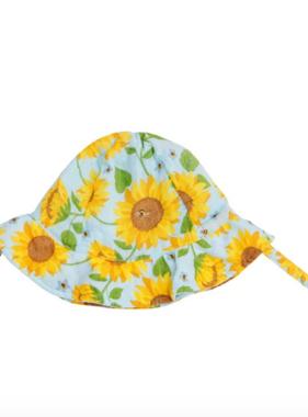 Angel Dear Sunflowers Sunhat Whispering Blue