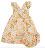 Angel Dear Honest Earth Floral Pinafore Top/ Bloomer