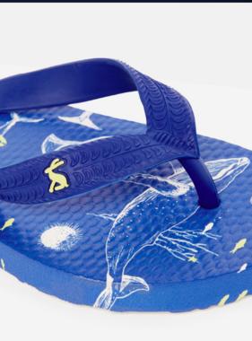 Joules JNR Flip Flop Blue Sea