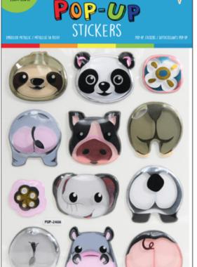 Iscream 700-301 Animal Pop Up Stickers