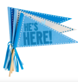 Mudpie LITTLE BROTHER PENNANT SET