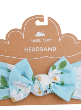 Angel Dear Magnolia Blue Headband Blue 12-24 months