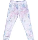 PJ Salvage Kids RXKMVSTP MARBLE Kids PJ Set Peachy Multi
