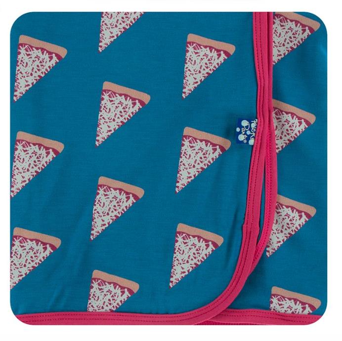Kickee Pants Swaddling Blanket Seaport Pizza Slices