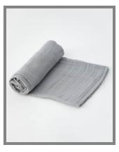 Little Unicorn Cotton Muslin Swaddle Blanket - Nickel