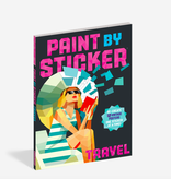 Workman Publishing Co Paint By Sticker: Travel