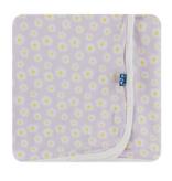 Kickee Pants Swaddling Blanket - Thistle Chamomile