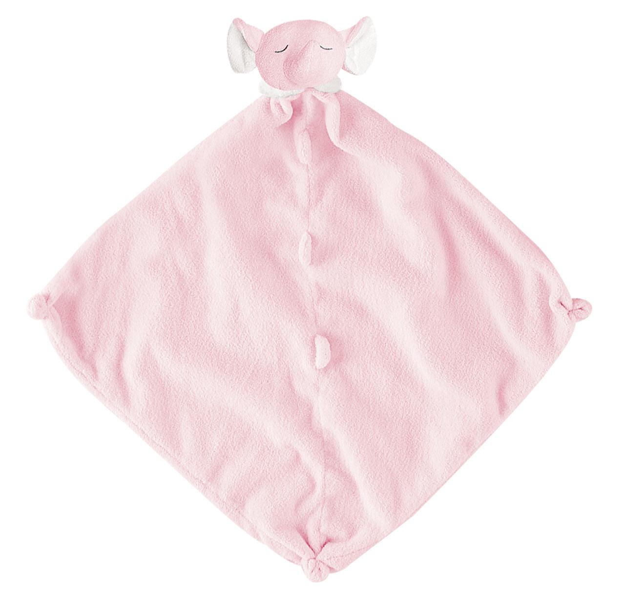 Angel Dear Elephant Blankie Pink 1142