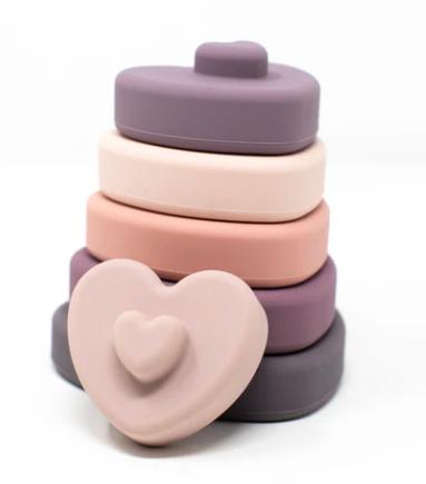 Three Hearts Heart Stacker Set