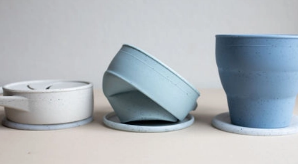 Three Hearts Collapsible Snack Cup