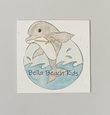 Bella Beach Kids Gift Card Enclosure Card - BBK Dolphin
