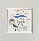 Bella Beach Kids Gift Card Enclosure Card - BBK Icons