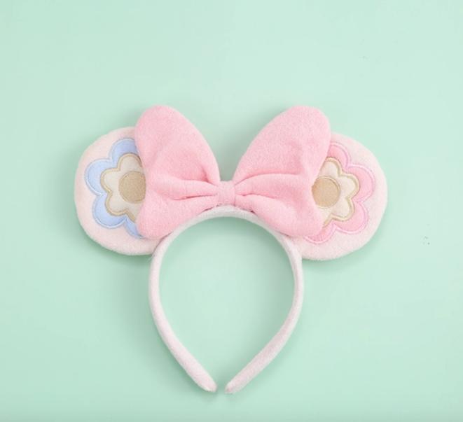 Novelty Purses Soft Plush Bow With Ears Headband ASSORTED COLORS