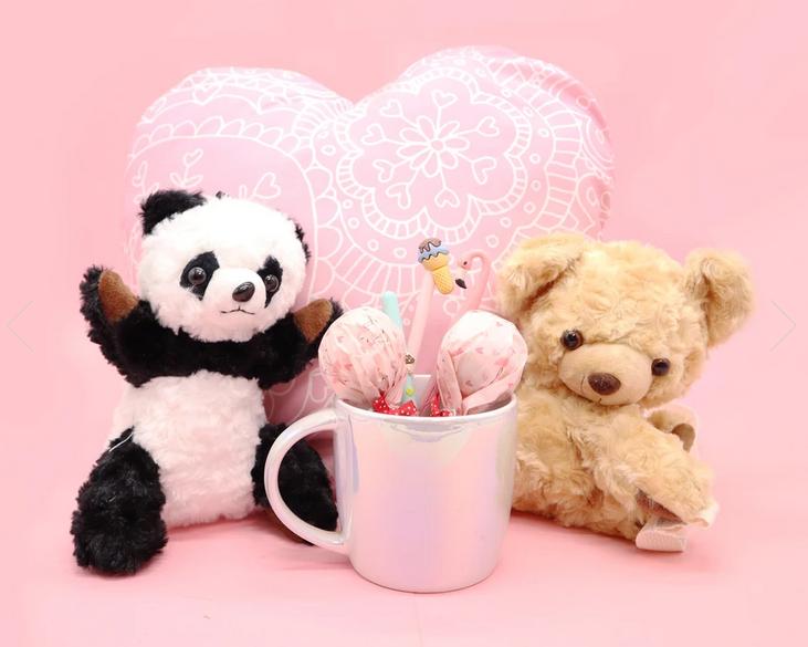 Novelty Purses Plushie Panda Bear Sling Crossbody