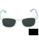 Hang Ten Baby White Sunglasses Lt Blue Arm