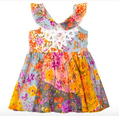 Mimi & Maggie Painted Desert Dress, Multi