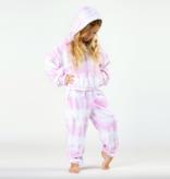 Shade Critters Terry Hoodie-Pink Tie Dye