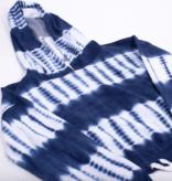 Shade Critters Terry Hoodie-Navy Tie Dye