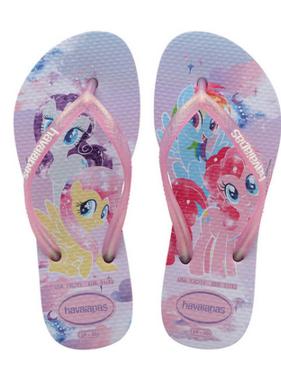 Havaianas Kids 4144514 Kids Slim My Little Pony Sandal, Lavender