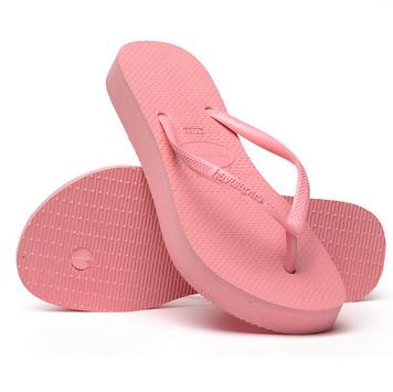 4144537 Slim Flatform Sandal, Macaron Pink