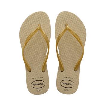 Havaianas Kids 4145617 Kids Slim Gloss Sandal, Sand