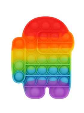 Bubble Pop Fidget Rainbow Robot Pop Fidget