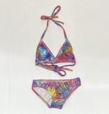Social Butterfly Triangle Bikini, Sparkle Bright Dye