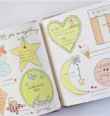 Baby Memory Book Baby Memory Book - Dream Big Little One Blue Stripe