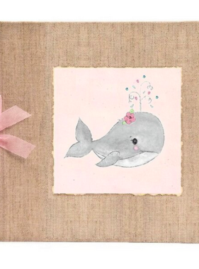 Baby Memory Book Baby Memory Book Pink Whale