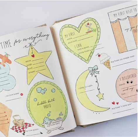 Baby Memory Book Baby Memory Book - Beach & Back