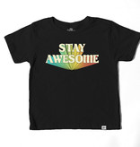 Kid Dangerous Stay Awesome Tee