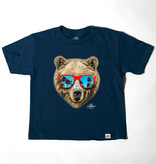 Kid Dangerous Bear Shades Tee