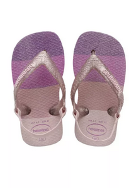 Havaianas Kids Baby Palette Glow Sandals, Candy PInk