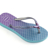 Havaianas Kids Kids Slim Glitter Sandal, Blue