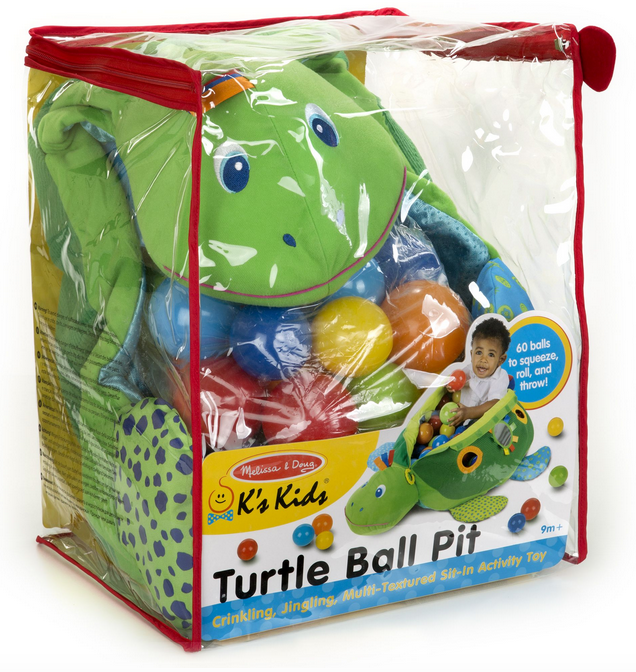 Melissa & Doug 9219 Turtle Ball Pit