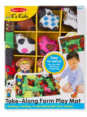 Melissa & Doug 9216 Take-Along Farm Play Mat