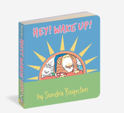 Workman Publishing Co BOYNTON Book: HEY! WAKE UP