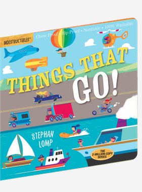 Workman Publishing Co Indestructibles - Things That Go!
