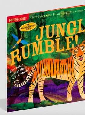 Workman Publishing Co Indestructible-Jungle Rumble