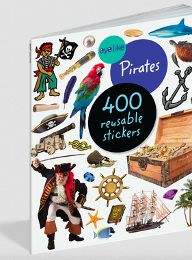 Workman Publishing Co Eyelike Sticker Book-Pirates