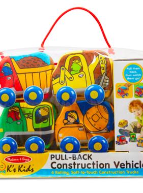 Melissa & Doug Pull-Back Construction Vehicles 9221