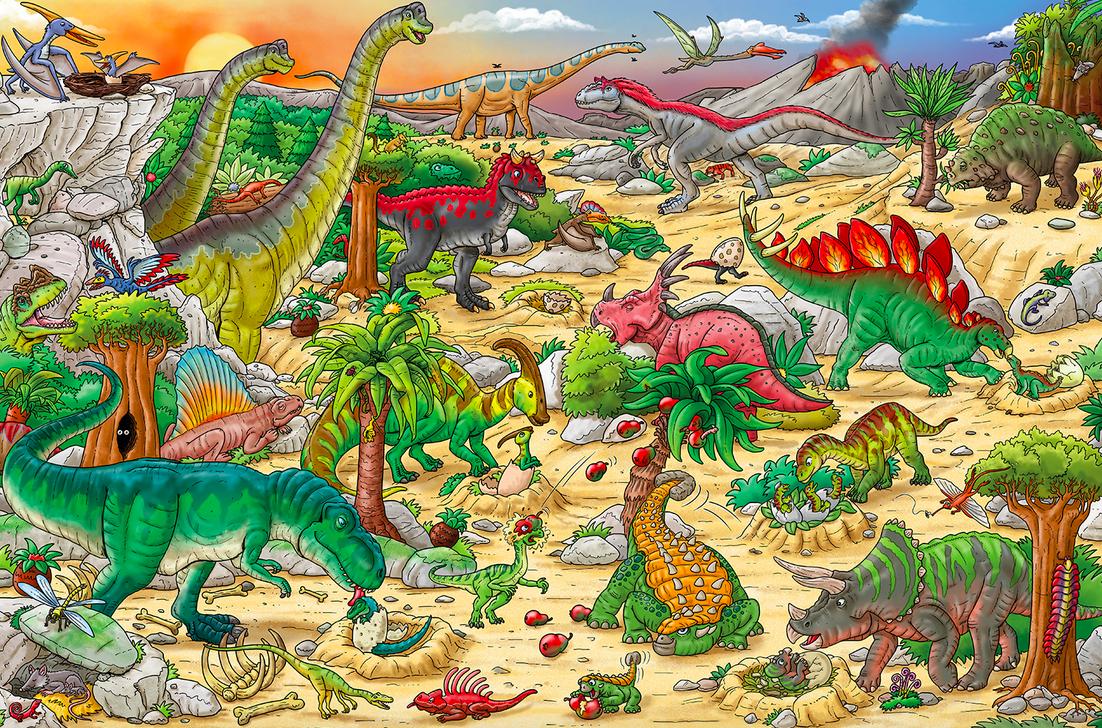 Workman Publishing Co My Big Wimmelbook Dinosaurs