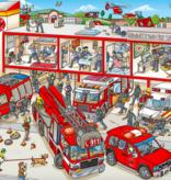 Workman Publishing Co My Big Wimmelbook Fire Trucks!