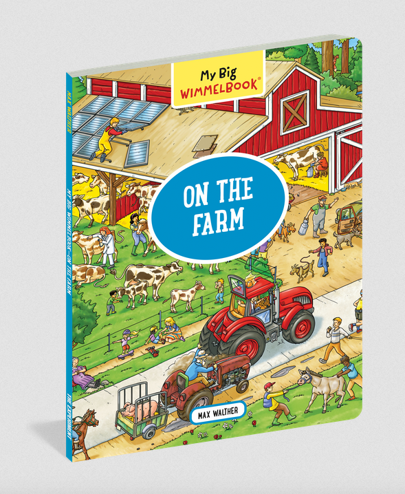 Workman Publishing Co My Big Wimmelbook On The Farm
