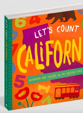 Workman Publishing Co Let's Count California