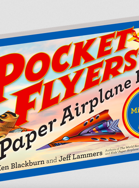 Workman Publishing Co Pocket Flyers Paper Airplane Book Revd