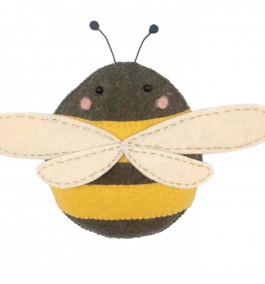 Fiona Walker 808022 Mini Bee Wall Hanging