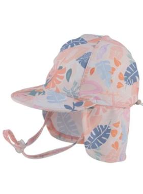 Tank Stream Design Kids Baby Girls Legionnaire Hat Sydney Blush